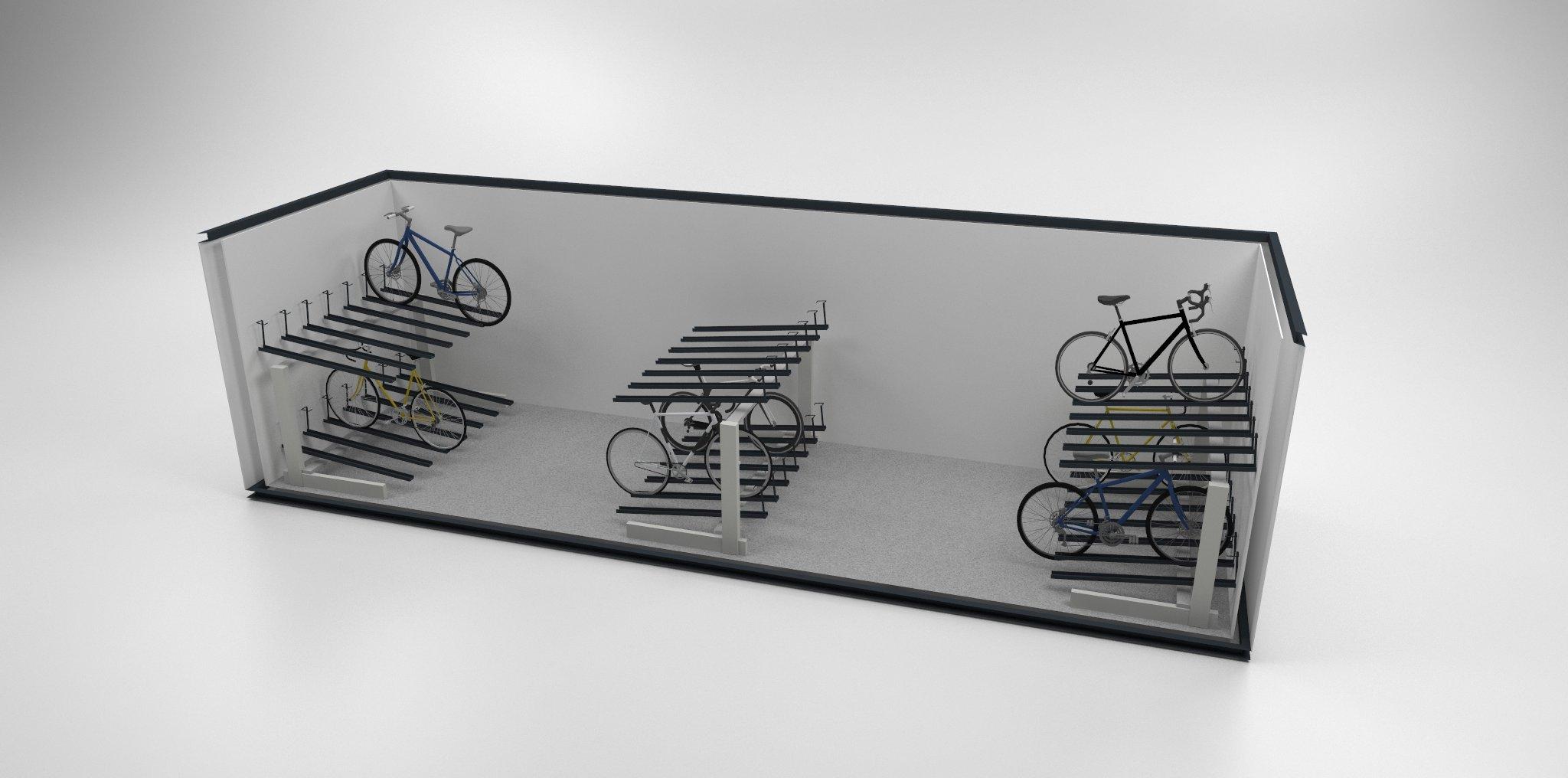 medium bike pod