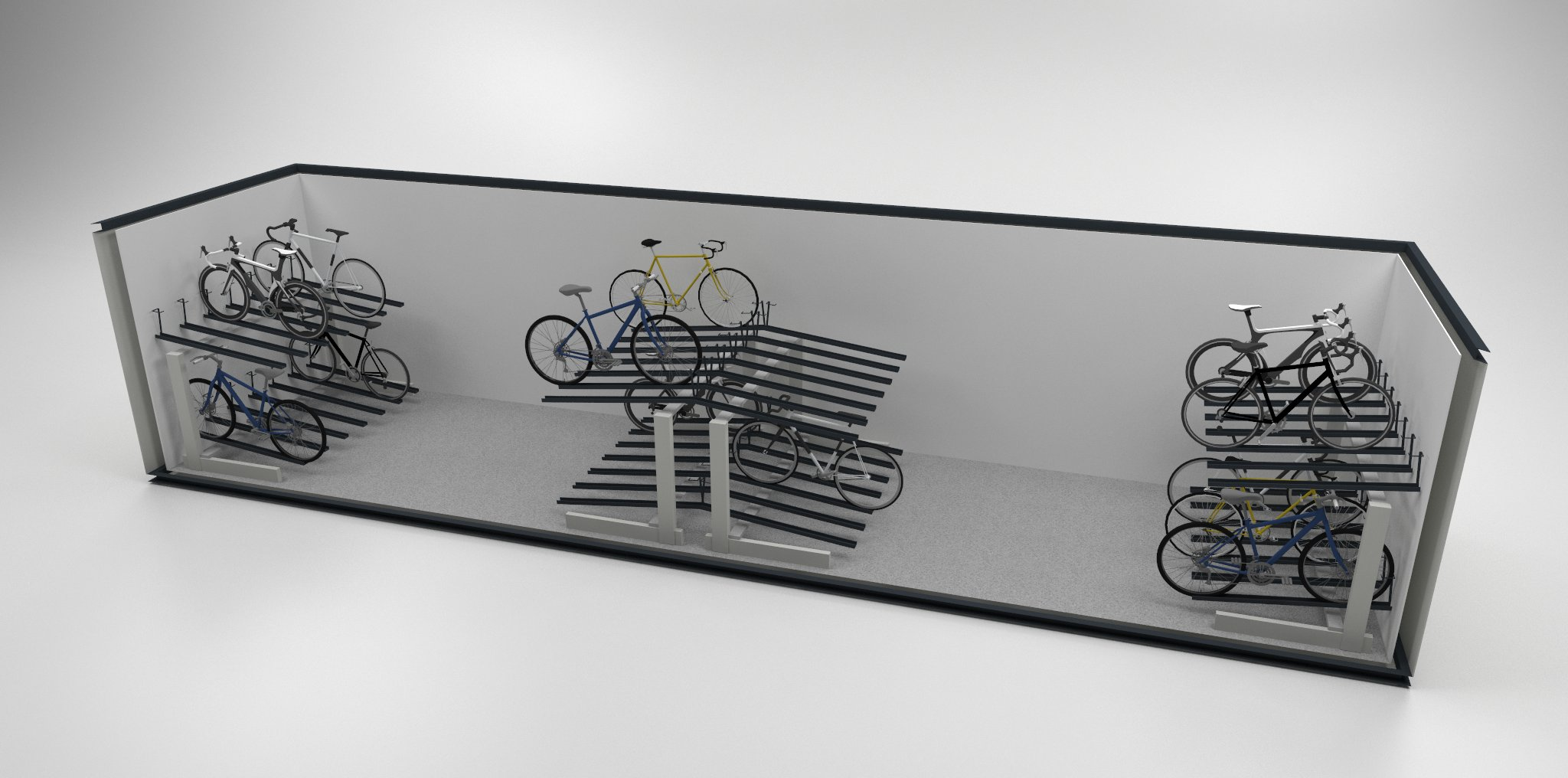 large bike pod